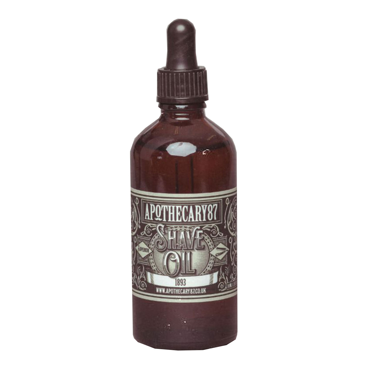 Apothecary87 Grooming - Shave Oil 1893 Fragrance - 100ml