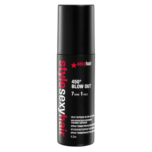 sexyhair - Style Sexy Hair - 450° Blow Out Heat Defense Blow Dry Spray
