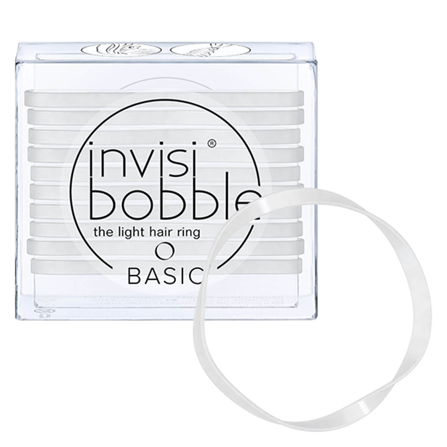 invisibobble BASIC - Crystal Clear -