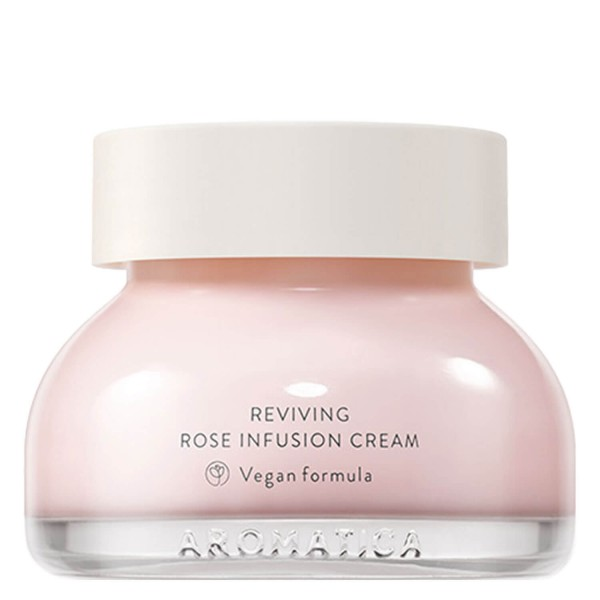 Image of AROMATICA - Reviving Rose Infusion Cream