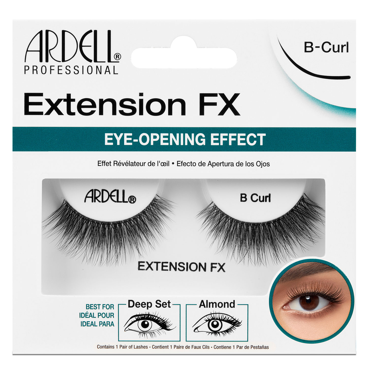 Ardell False Lashes - Extension FX B Curl - 1x