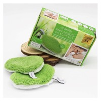 Waschies Kidsline - Waschpads für Babys und Kinder Grün Classic-Edition