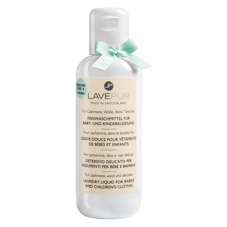 LAVEPUR - Parfümfreies Feinwaschmittel Für Baby- & Kinderkleidung - 250ml