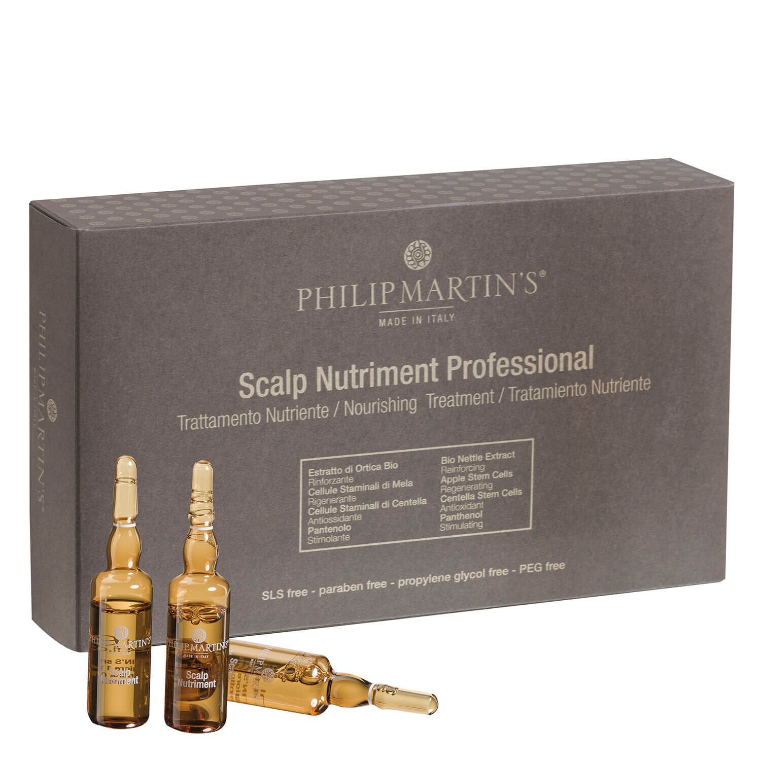 Philip Martin's - Scalp Nutriment Professional - 12x7ml