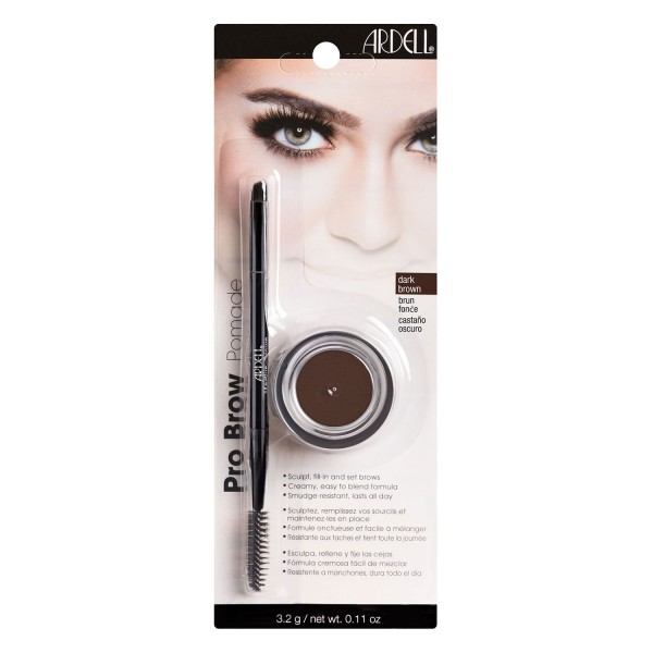 Image of Ardell Brows - Brow Pomade/Brush Dark Brown