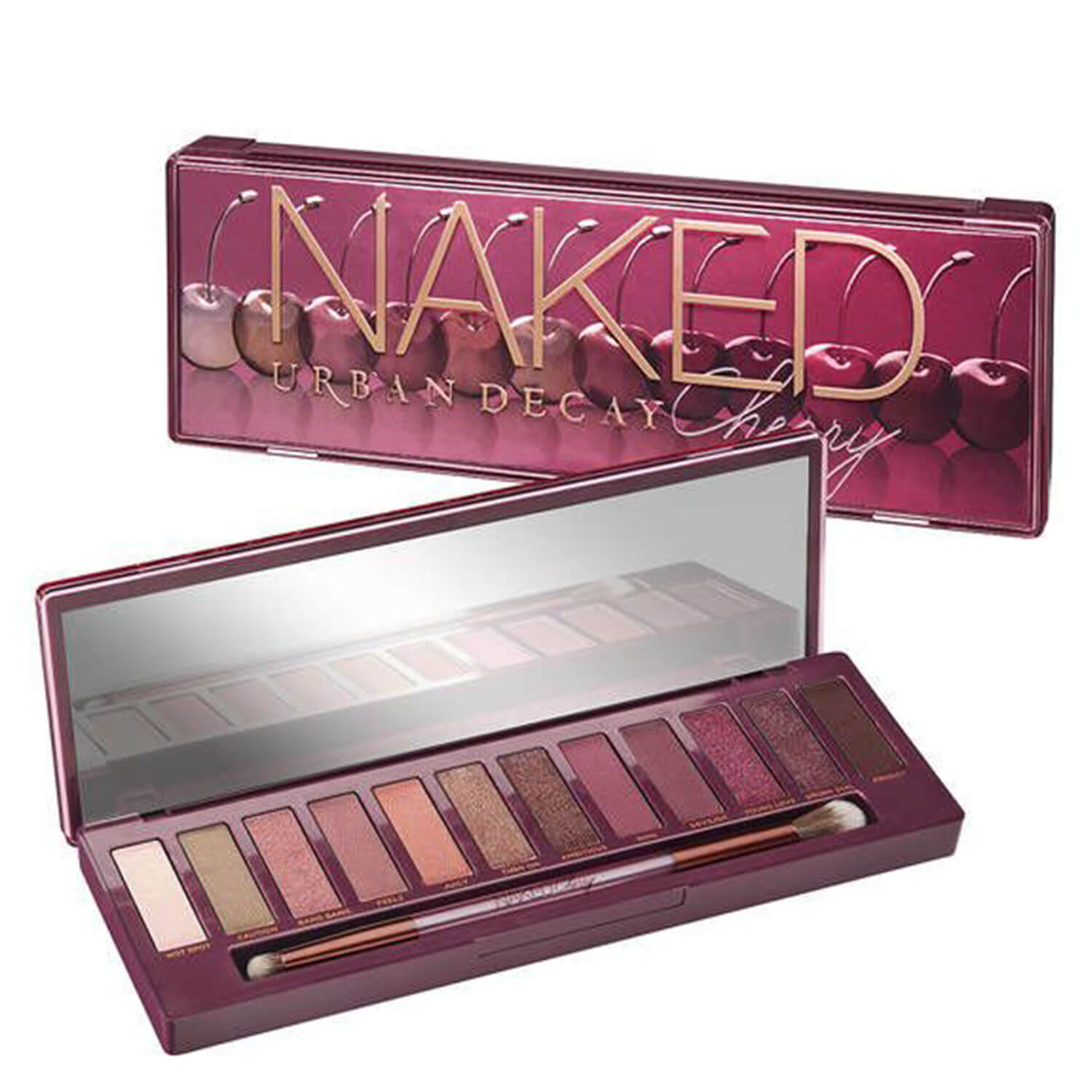 Naked Palettes - Eyeshadow Palette Cherry - 1x