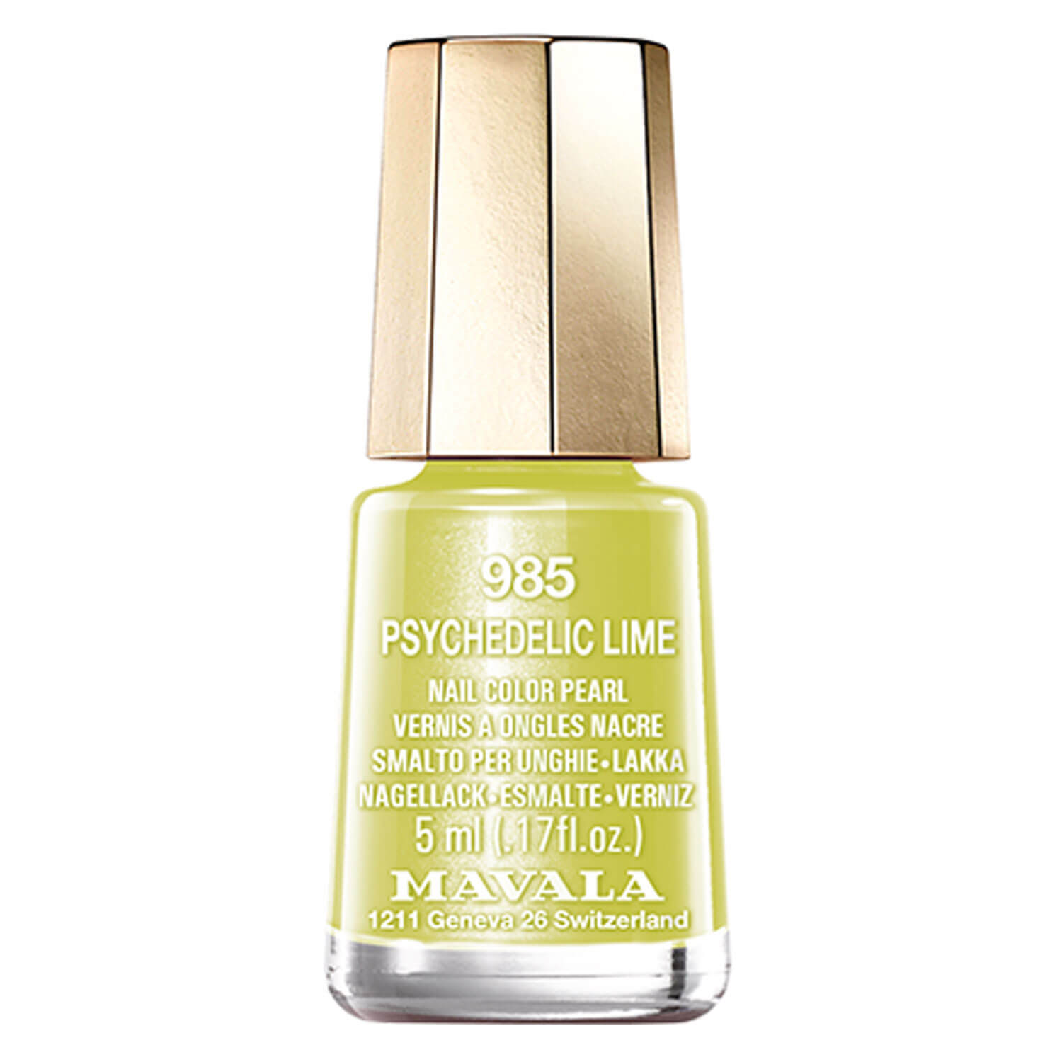 Dash & Splash Color - Psychedelic Lime 985 Limited Edition - 5ml