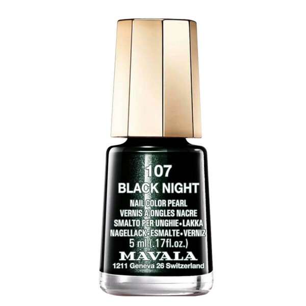 Mavala - MAVALA Color - Black Night 107