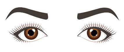Hangende-Augen