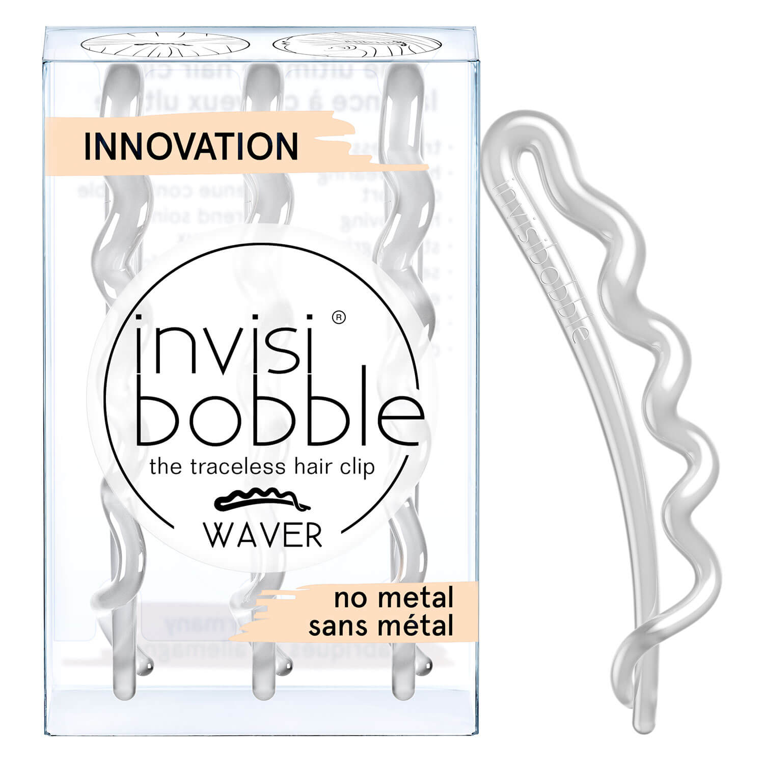 invisibobble WAVER - Crystal Clear -