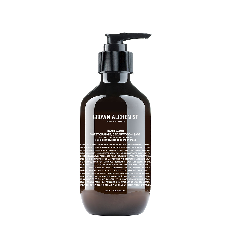 GROWN Beauty - Hand Wash: Sweet Orange, Cedarwood & Sage - 300ml