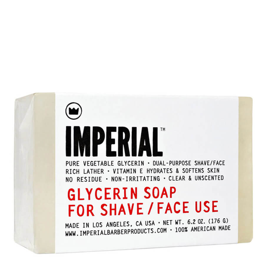 Imperial - Glycerin Soap For Shave / Face Use - 176g