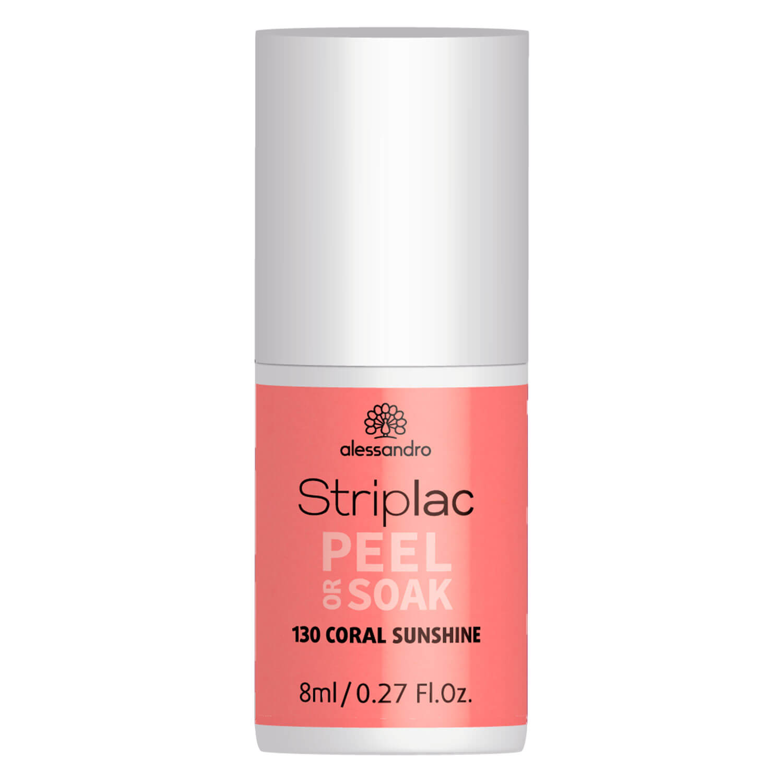 Striplac Peel or Soak - Coral Sunshine - 8ml