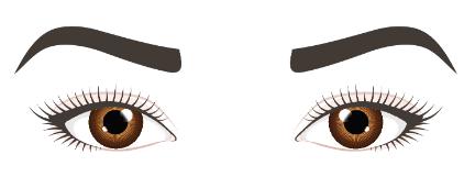 Mandel-Augen