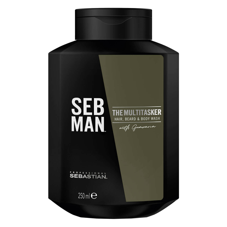 SEB MAN - The Multitasker Hair Beard & Body Wash - 250ml