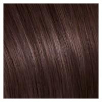 SHE Bonding-System Hair Extensions Straight - 6 Helles Kastanienbraun 55/60cm
