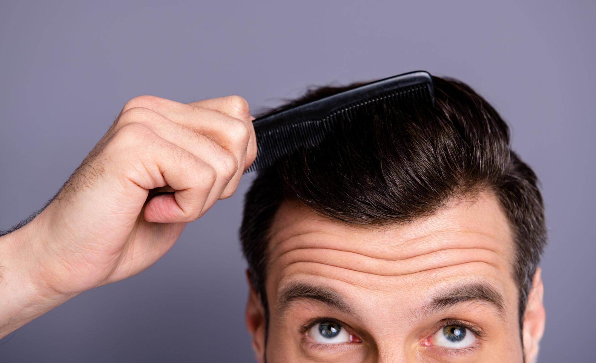 Stylen ganz männer haare kurze dünne haare