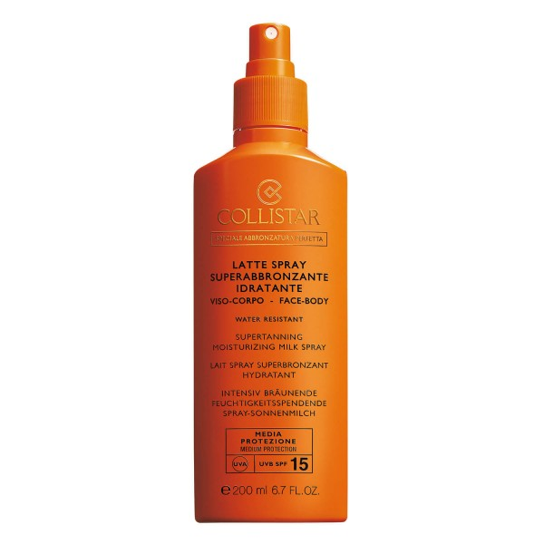 Collistar - CS Sun - Supertanning Moisturizing Milk Spray SPF15