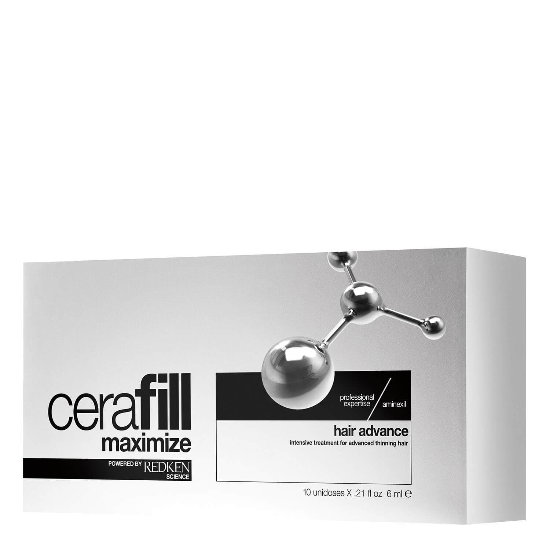 Cerafill Maximize - Hair Advance Aminexil - 10x6ml