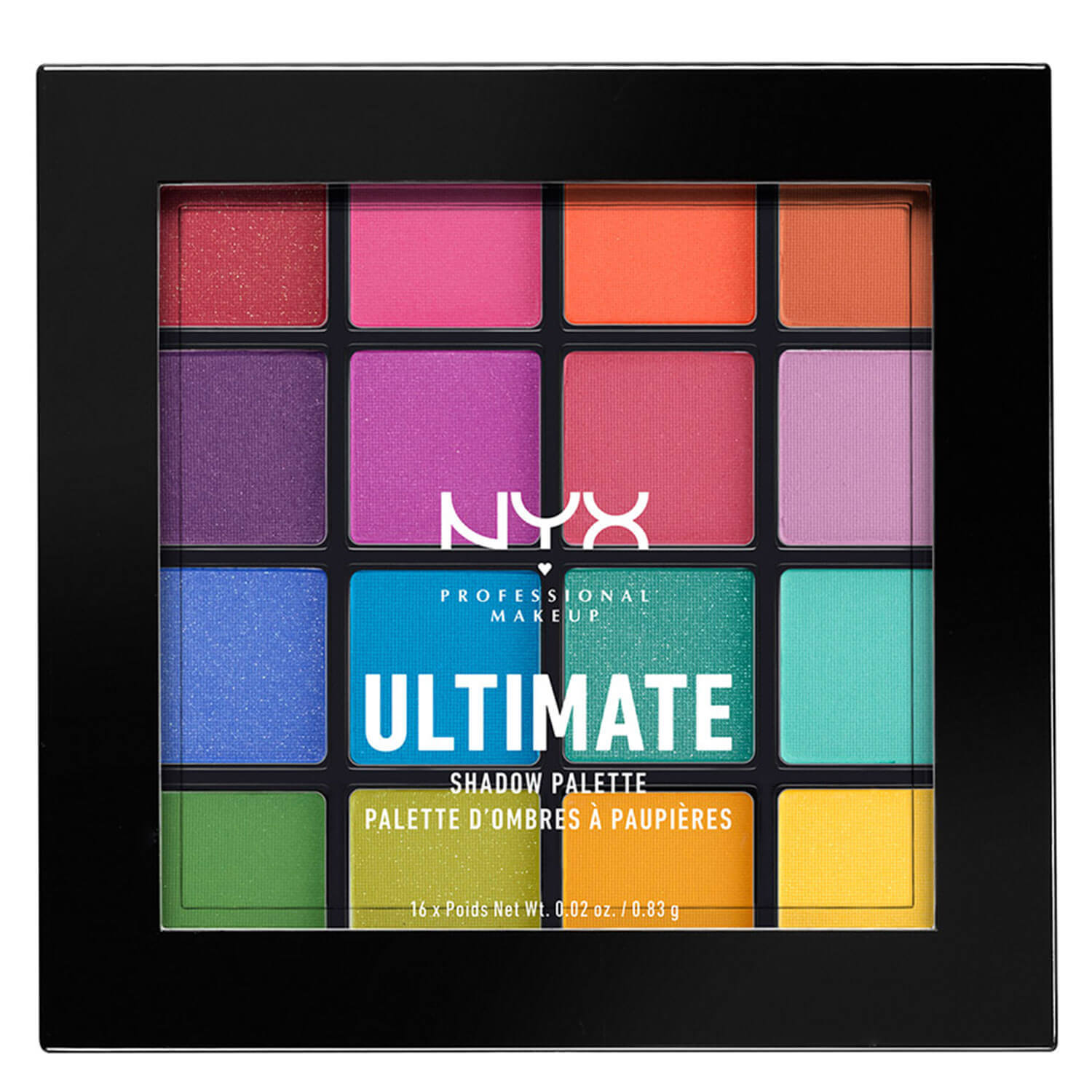 Ultimate - Shadow Palette Brights - 1x