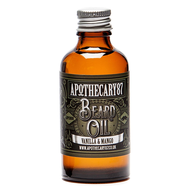 Apothecary87 Grooming - Beard Oil Vanilla & Mango Fragrance - 50ml