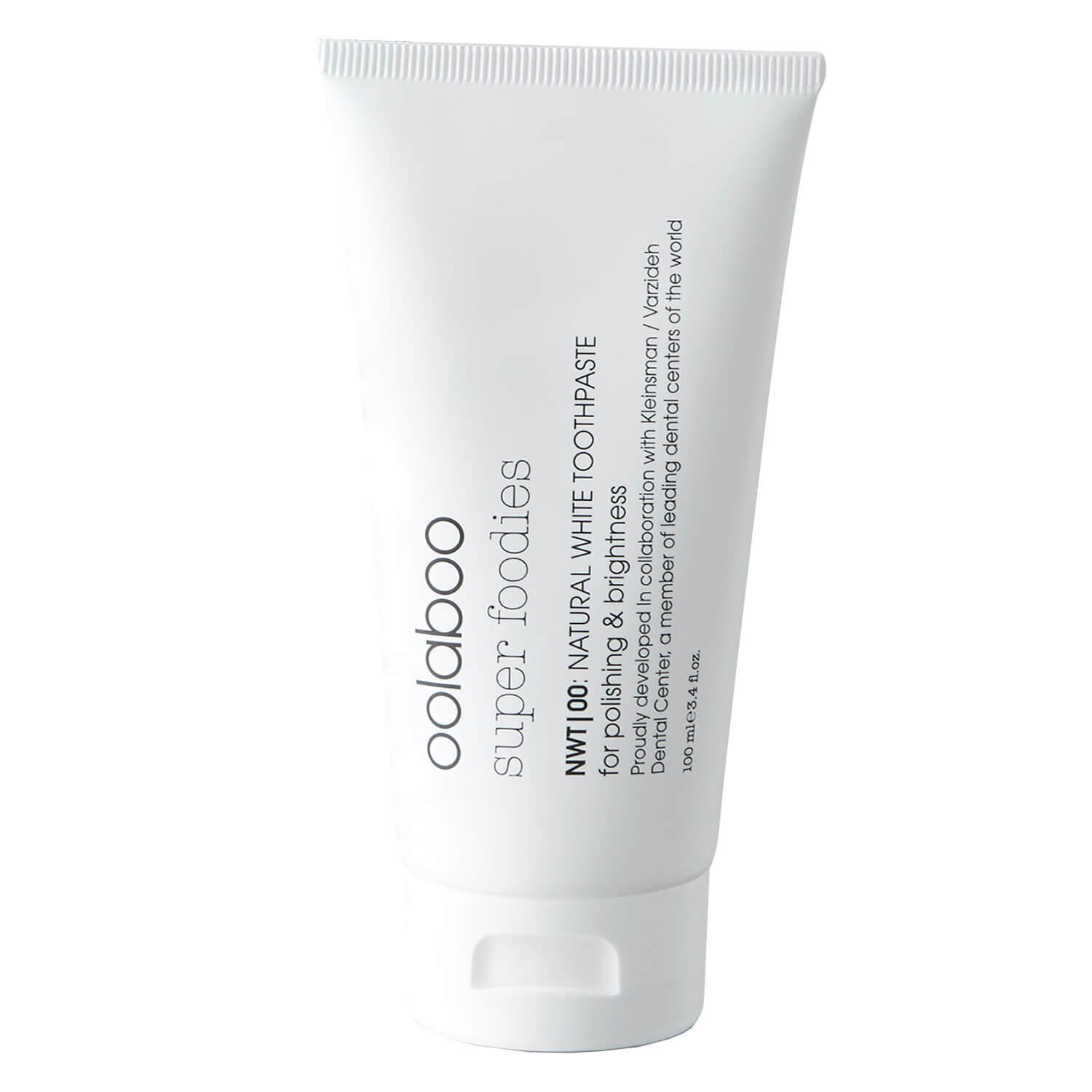 super foodies - natural white toothpaste - 100ml