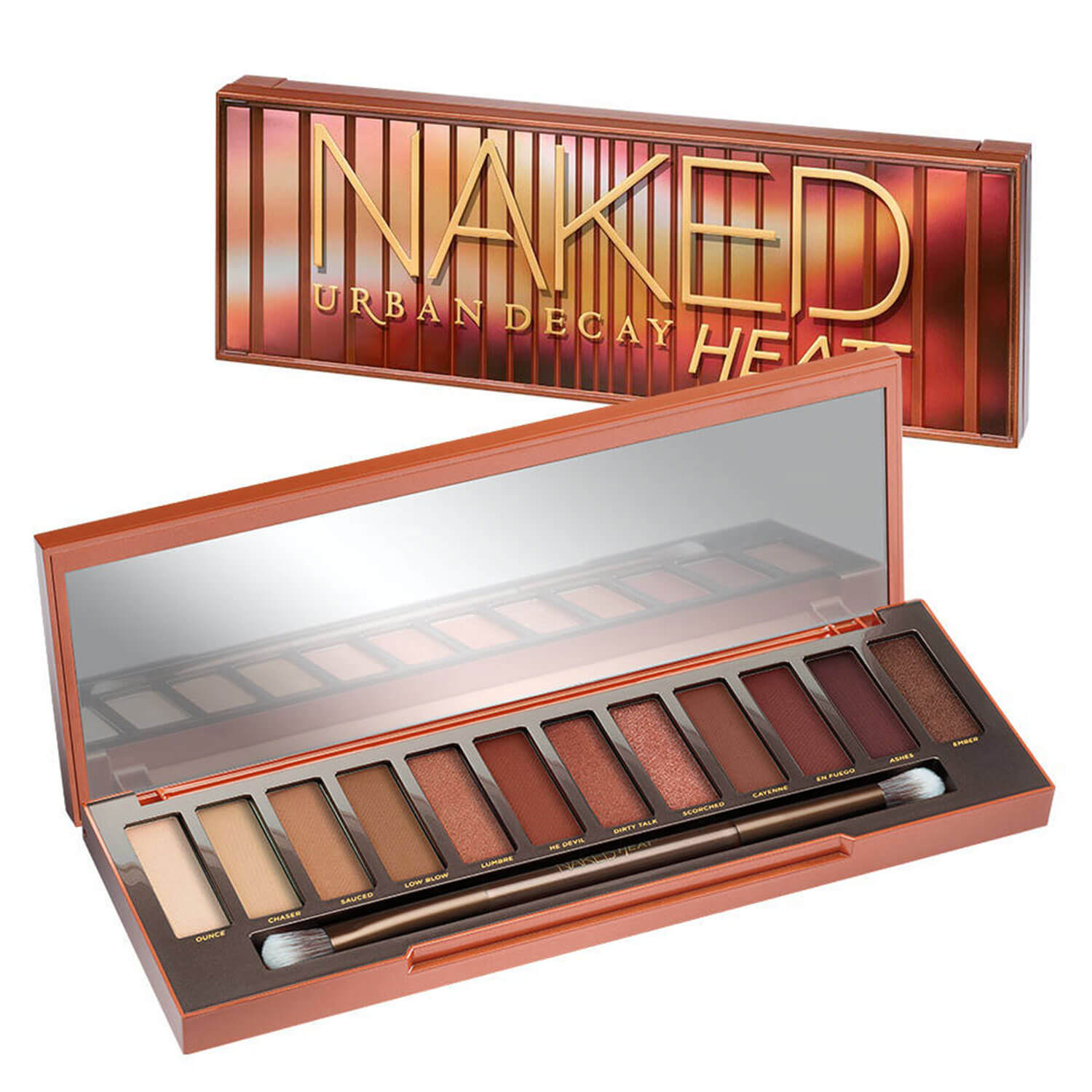 Naked Palettes - Eyeshadow Palette Naked Heat - 1x