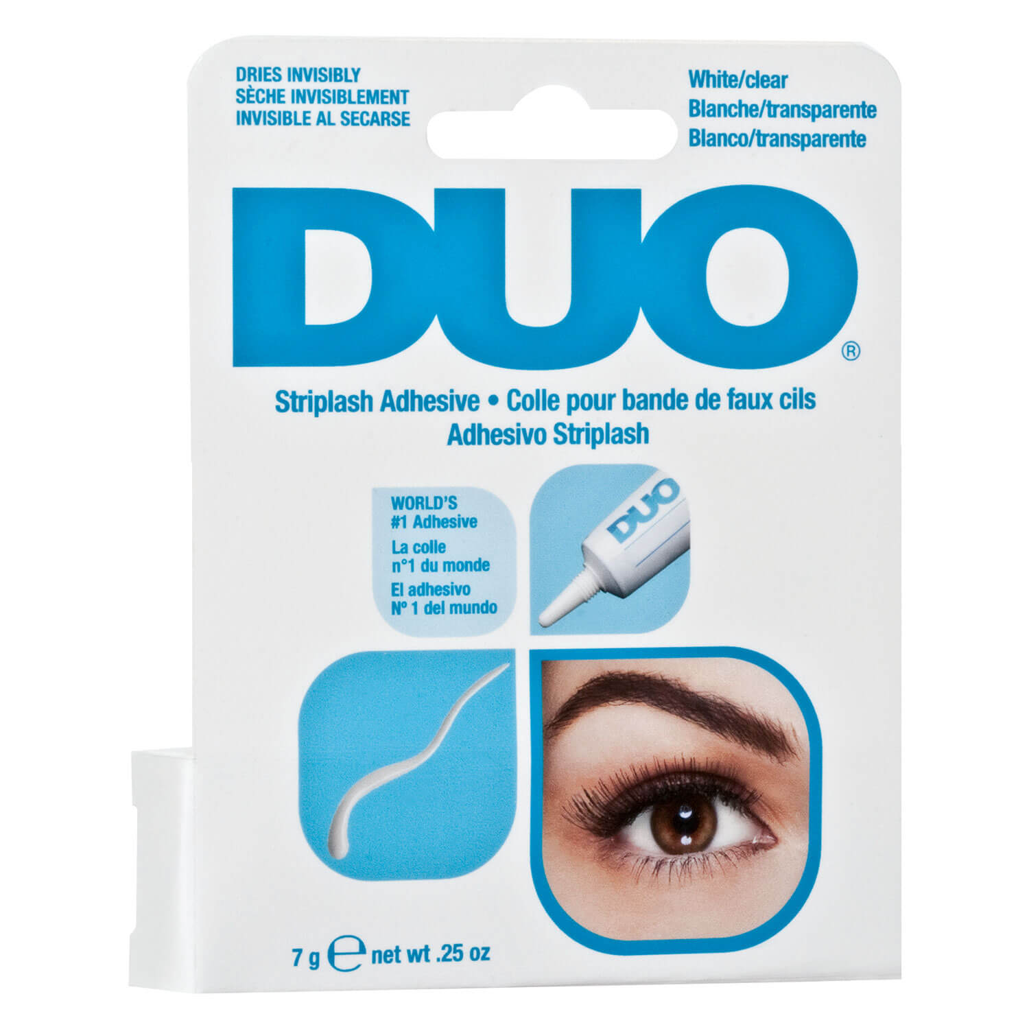 DUO - Adhesive White/Clear - 7g