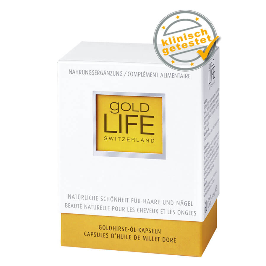 Gold Life - Goldhirse-Öl Kapseln - 60 Kapseln