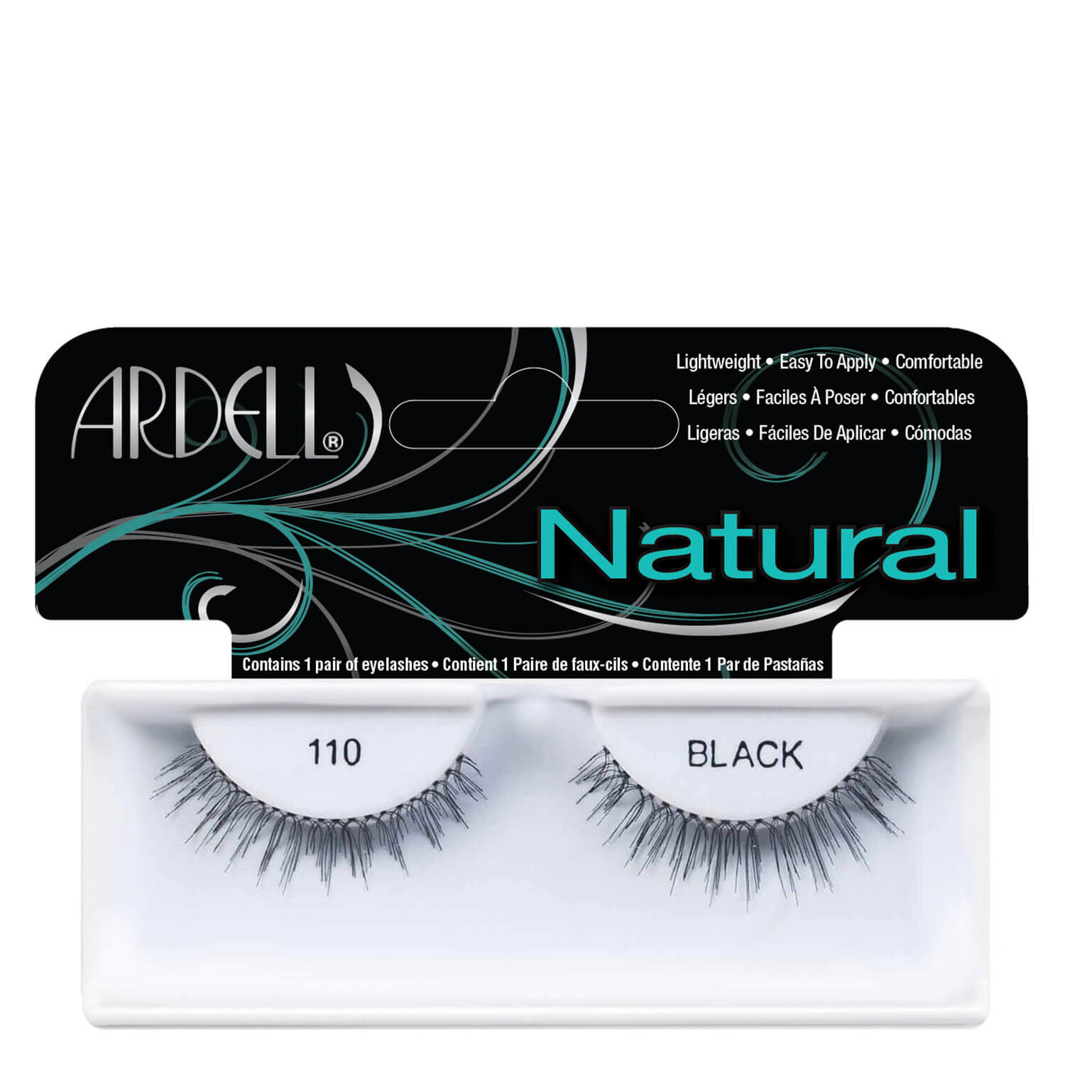 Ardell False Lashes - Natural Lash 110 - 1x