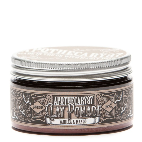 Image of Apothecary87 Grooming - Clay Pomade Vanilla & Mango Fragrance