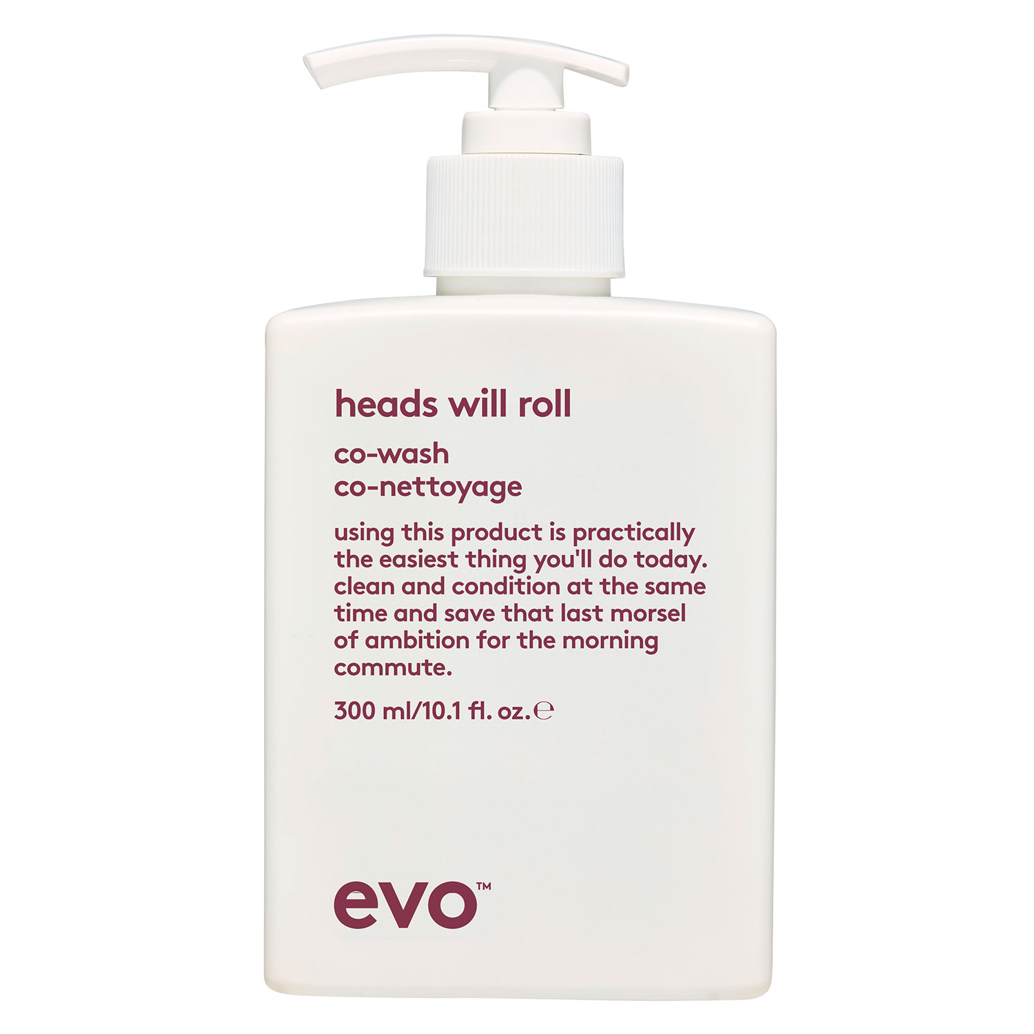 evo curl - Heads Will Roll Co-wash - 300ml